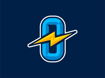 Overkill channel electricity electric logo youtube kill overkill o lightning bolt blue