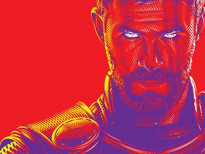 Work in Progress - Thor Ragnarok