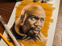 Luke Cage Sketch
