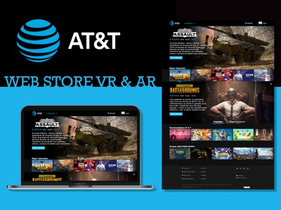 Web UI - AT&T VR & AR STORE