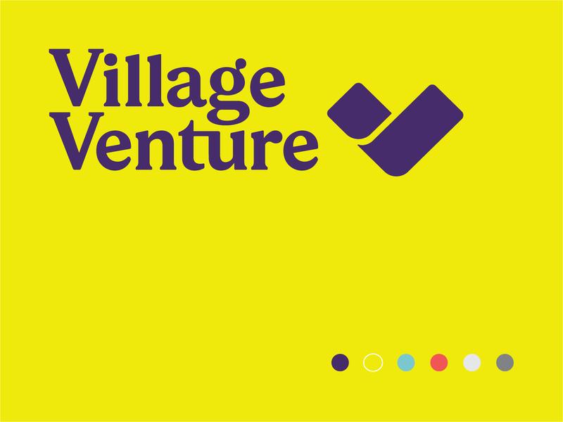 Village Venture Identity design for good logo idenity branding brand