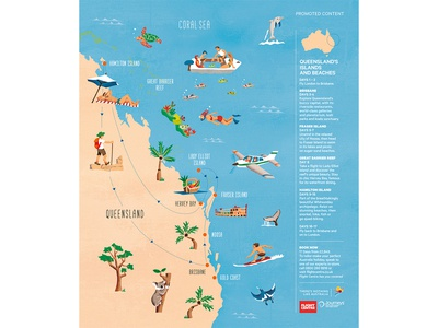 Queensland's Islands and Beaches