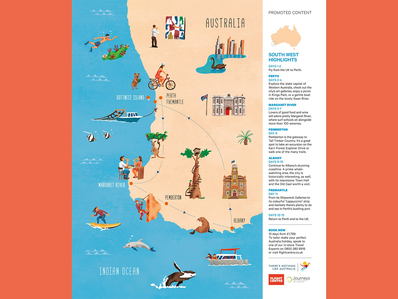 Southwest Australia Map.South West Highlights By Simon Jugovic Fink On Dribbble