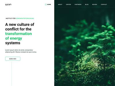 Savifi ui design web
