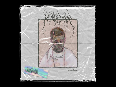 Yung Lean - half dead Single Cover Artwork