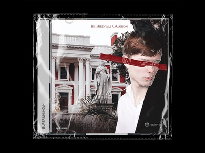 His Mind Was A Mansion - Album Cover for Sarah Avia