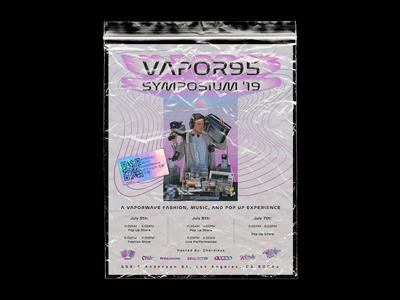 Vapor95 Symposium '19 Pop-up Poster / Flyer