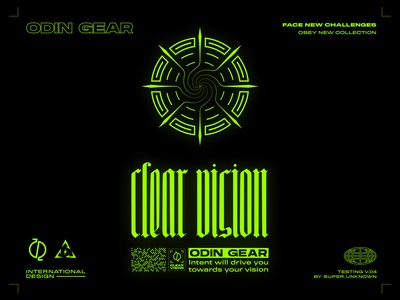 clear vision - clothing print design for upcoming collection