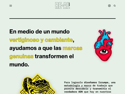 RE-AL Homepage