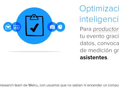 Welcu features