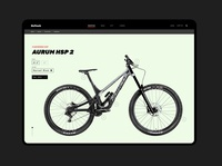 OnTrack website uiux ui clean ui simple minimal interface clean web landing downhill mountain bike bike