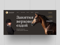 Talisman horses web page concept