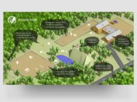 Map/scheme for horse club