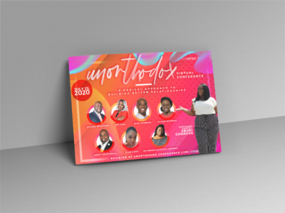 Flyer Design photoshop digital vivid designer design graphic media print awesome beautiful out-of-the-box vivacious colorful eyecatching vibrant unorthodox conference virtual flyers