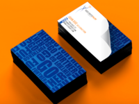 Creative Logo and business cards designed