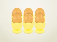 6 Eggs illustration
