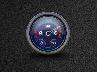 Dashboard Icon dashboard icon leather dial speedometer