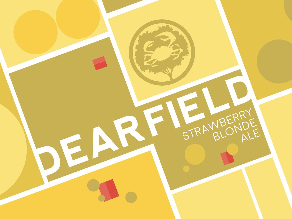 Dearfield Beer Label for Crabtree Brewing Company beer art beer label