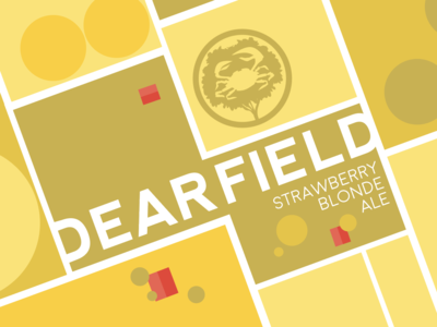 Dearfield Beer Label for Crabtree Brewing Company