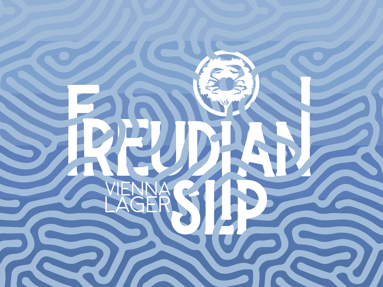 Freudian Slip Beer Label for Crabtree Brewing Company beer label design beer label beer beer art