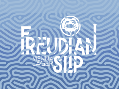 Freudian Slip Beer Label for Crabtree Brewing Company