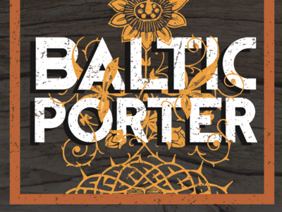 Baltic Porter Beer Label for Crabtree Brewing Company