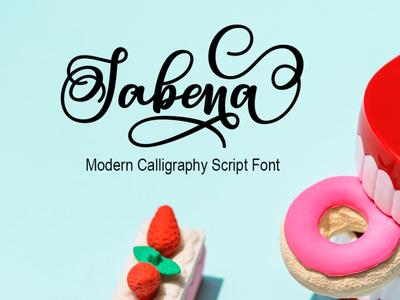 Sabena Modern Calligraphy Script Font Free