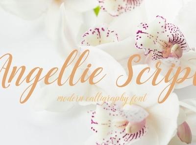 Angellie Modern feminine font Free