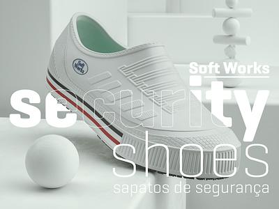 Security Shoes 3d artist 3dshoes design product shoes