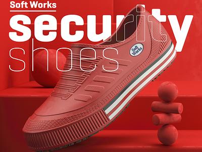 SoftWork 3d Shoes design 3d artist product 3dshoes 3d shoes