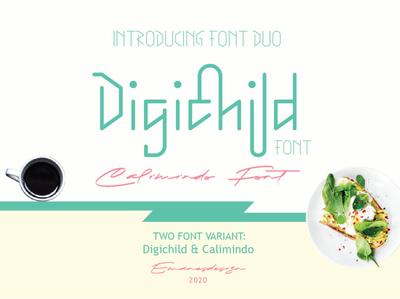 Digichild Font Duo