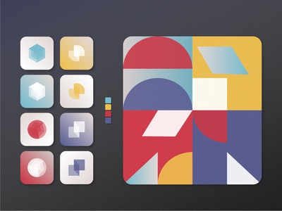 Indie Puzzle Game | App Icons — Daily UI #005