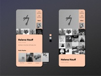 Music Community App | User Profile — Daily UI #006