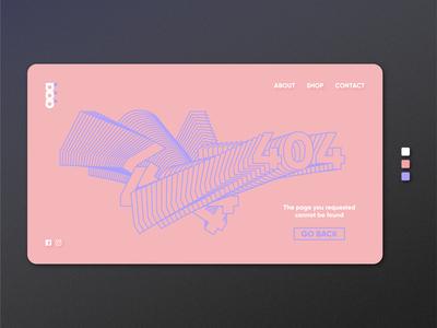 ąąą | 404 Page — Daily UI #008
