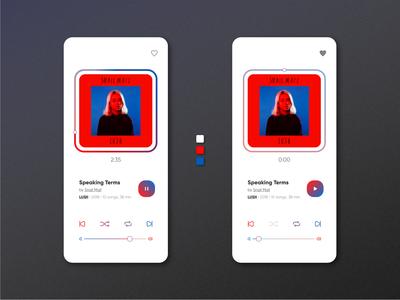 Music Player — Daily UI #009