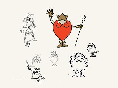 Who is Red? strategic design branding agency character mascot illustration design branding and identity brand strategy brand identity brand experience