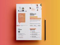 Corporate Flyer PSD Template V01