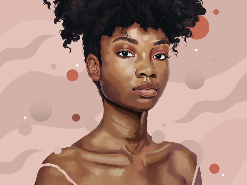 Jailyn digital painting illustration digital art