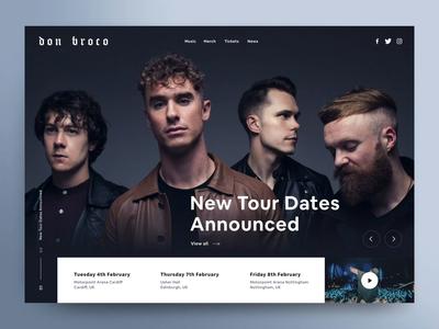 Don Broco Website