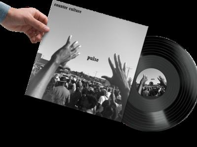 Pulse Record Mockup
