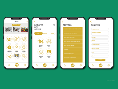 User interface for Apps Design