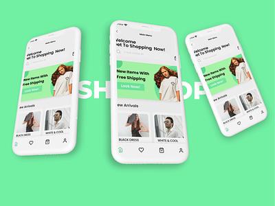 Shopping Now ui design figmadesign branding ui
