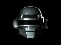 Thomas Helmet - Daft Punk - 3d Model