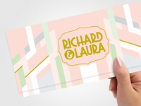 Richard & Laura Wedding Invite