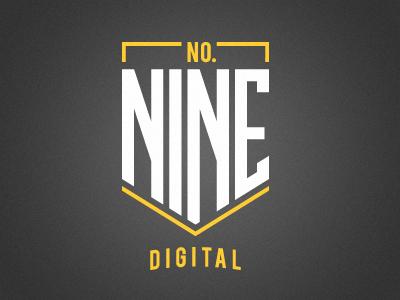 No.9 Digital - Concept logo design