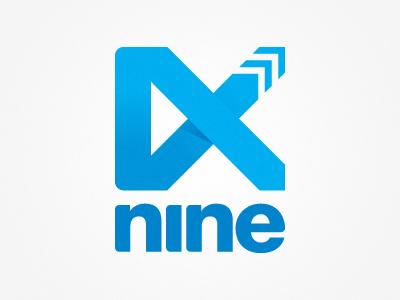 nine creative - roman logo design