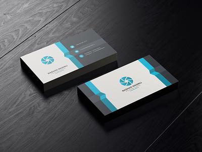 Business Card logofolio logo branding ui design cleardesign illustration color graphicdesign graphic design card business readytoprint blue modern design modernism business card design businesscard