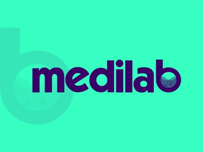 Medilab Logo graphic design branding logo design