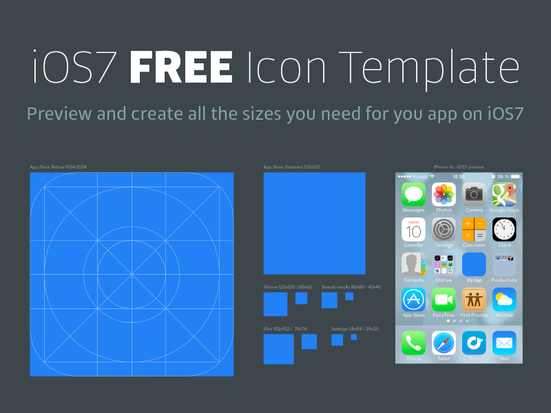 ios7 icon template by hubert florin dribbble dribbble