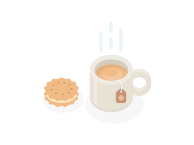 All Unreads - Empty state (4/5) all unreads cookie biscuit snack empty slack tea coffee